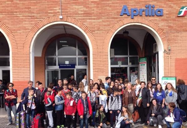 Gruppo in partenza per l'Expo