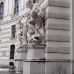 Vienna palazzo imperiale di Hofburg