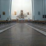 interno del Santuario della Divina Misericordia