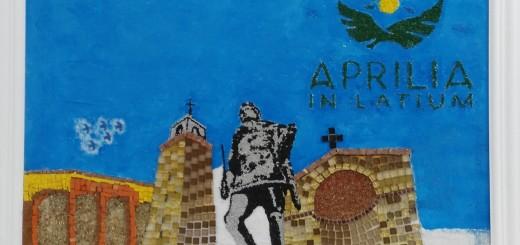 mosaico aprilia in latium