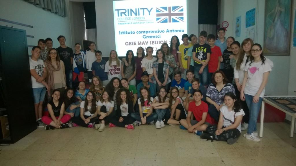 certificazione Trinity College 2017