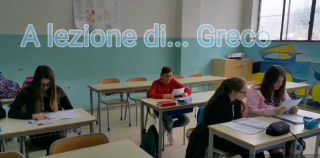 a lezione di greco