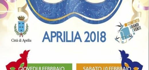 carnevale locandina 2018