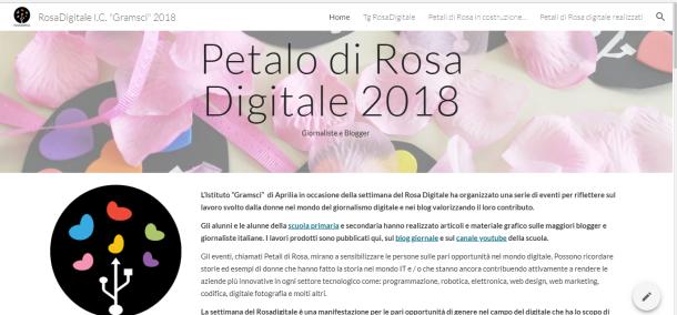 sito rosa digitale