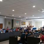 reporter web gramsci in aula consiliare (1)