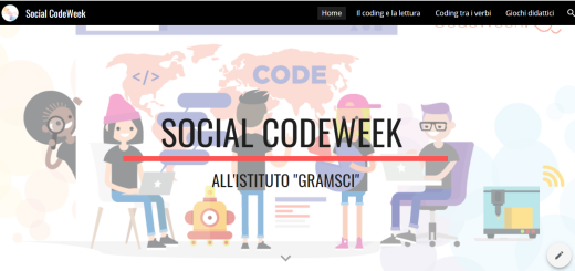 Sito social CodeWeek