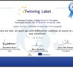 certificato etwinning avvio progetto-001