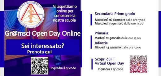grafica per comunicazioni open day